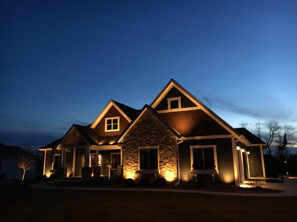 This is house outdoor lighting.