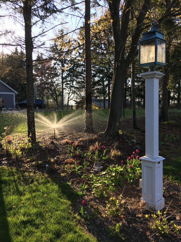 This is a sprinkler system.