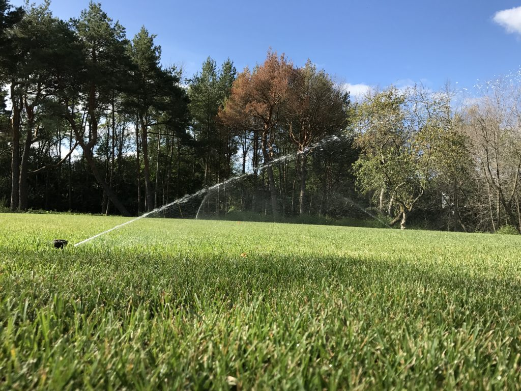 This is an irrigation system.